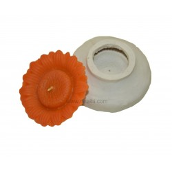 Niral Handmade Rubber Sunflower Candle Mould  - 40 gm