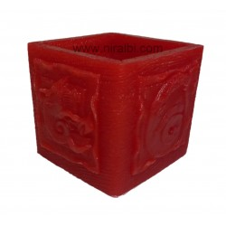 Designer Ganesha Hurricane Candle Mould