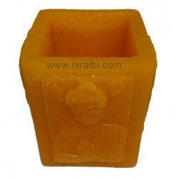 Buddha Silicone Hurricane Candle Mould
