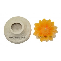 Niral Silicone Flower Candle Mould SL472