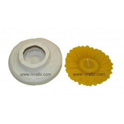 Rubber Floating Flower Candle Mould