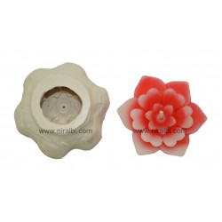 Different Flower Flower Candle Mould