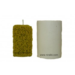 Silicone Rose Flower Candle Mould