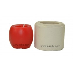 Hurricane Pillar Candle Mould SL483