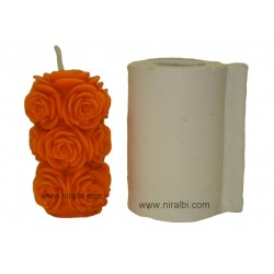 Big Rose Crafted Designe Candle Mould
