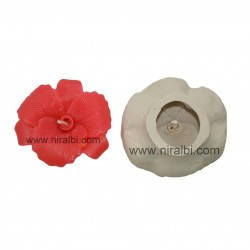 Niral Orchid flower floating candle mould SL490