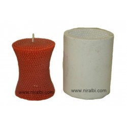 Designer Small Dottted Candle Mould
