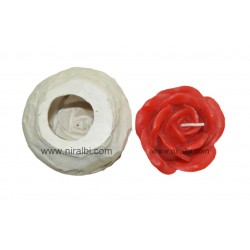 Rose flower floating candle mould