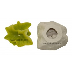 Niral Holy leaf pillar candle mould SL493