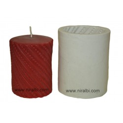 Silicone Pillar Design Candle Mould